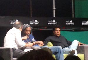 Ronaldinho at the Web Summit 2016